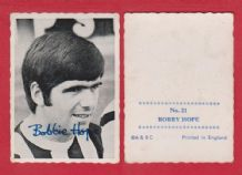 West Bromwich Albion Bobby Hope Scotland 21 (A&BC)
